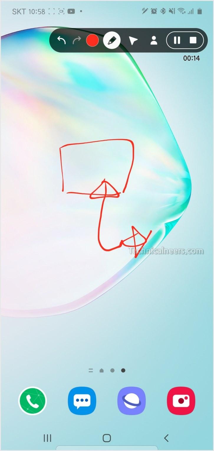 갤럭시 화면 녹화 기능 - 갤럭시S20