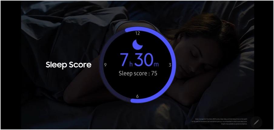 수면 측정 기능의 진화