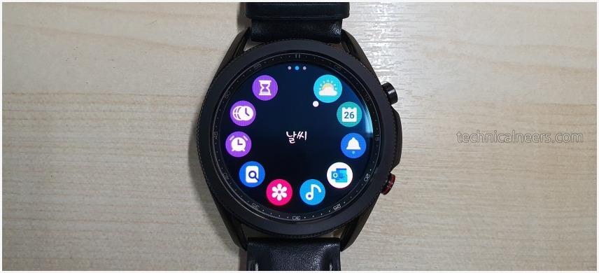 갤럭시 워치3 LTE 어플