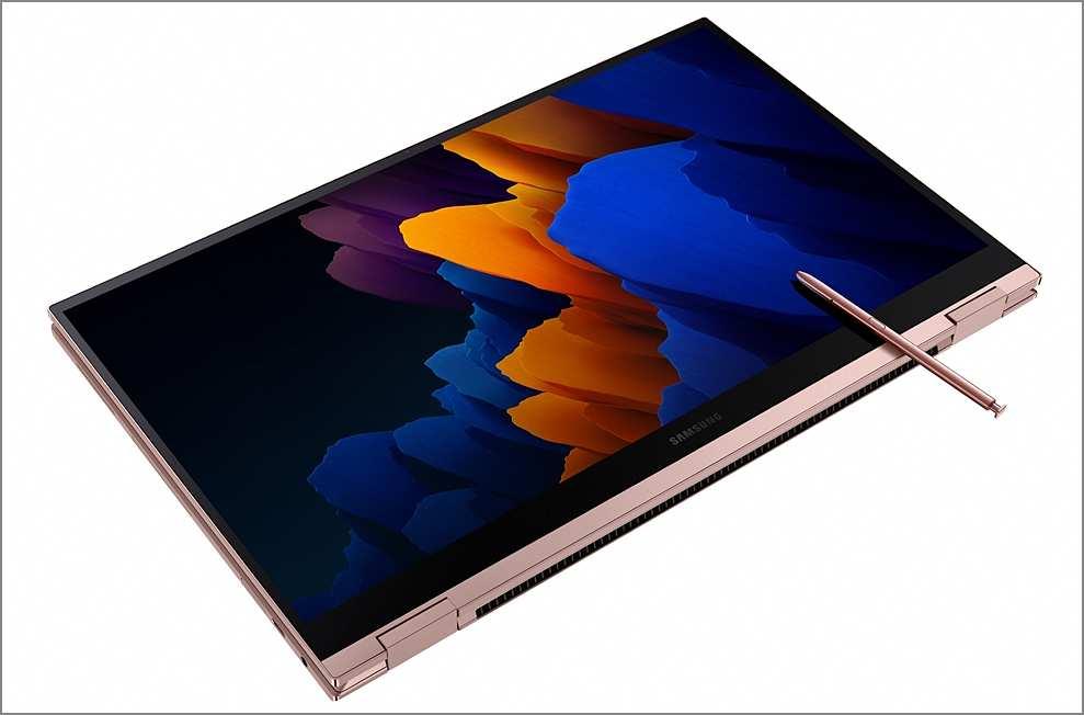 삼성 갤럭시북 플렉스2 디자인(렌더링)